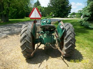 1957 Oliver 55 Antique Tractor farmall allis deere 44 66 77 88 6