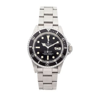 Rolex Submariner Auto 40mm Steel Mens Oyster Bracelet Watch Date 1680
