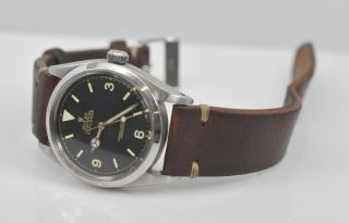 Vintage 1957 Rolex Explorer Ref.  6610 Gilt 36mm