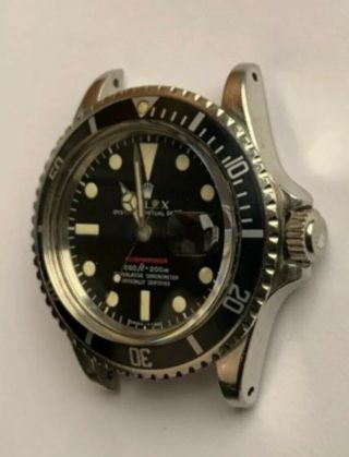 Vintage Rolex Red submariner 1680 From 1970 With Rare Punched Papers Full Set 4