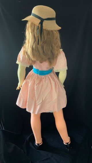 "Vintange doll,  in a,  ideal daddy doll 42"". 2"