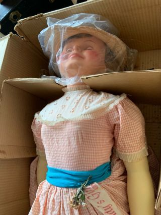 "Vintange doll,  in a,  ideal daddy doll 42"". 8"