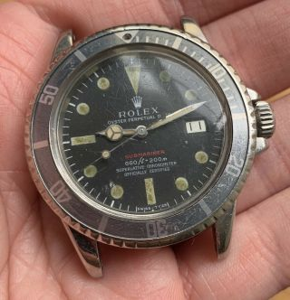 1970's Vintage Rolex Submariner Ref.  1680 Red MK4 Full Set Double Punched Papers 3
