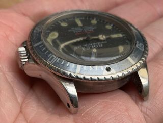 1970's Vintage Rolex Submariner Ref.  1680 Red MK4 Full Set Double Punched Papers 7