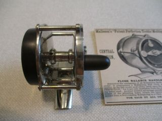 Ca.  1885 Malleson Multiplying Reel,  Exceedingly Rare 2