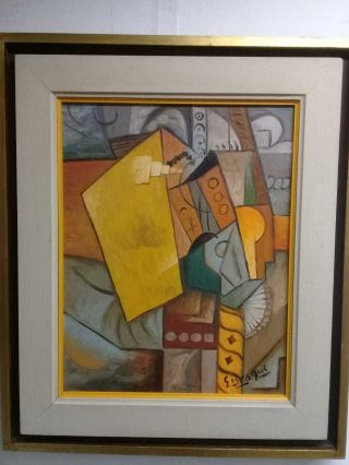 French Old Master Georges Braque - Antique Oil On Canvas Attributed