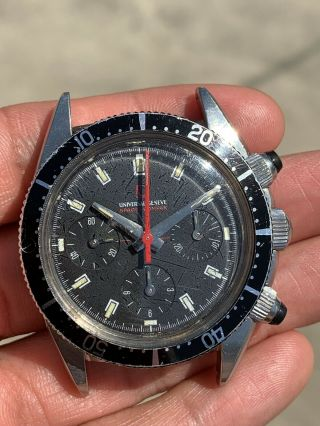 Vintage Universal Geneve Space Compax Chronograph Watch
