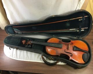 Fine Antique Heinrich Th Heberlein Markneukirchen 1930 Violin
