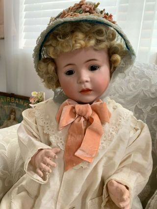VERY RARE Large Antique German 1488 Character Simon & Halbig Baby Doll 4