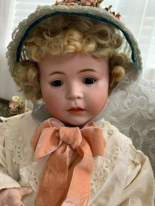 VERY RARE Large Antique German 1488 Character Simon & Halbig Baby Doll 6