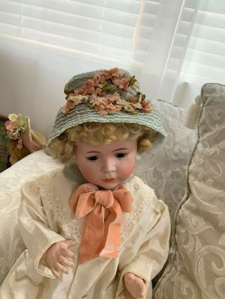 VERY RARE Large Antique German 1488 Character Simon & Halbig Baby Doll 7