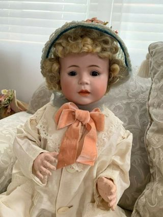 VERY RARE Large Antique German 1488 Character Simon & Halbig Baby Doll 8