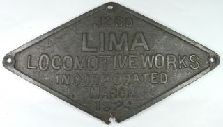Antique Iron 1924 Lima Builder