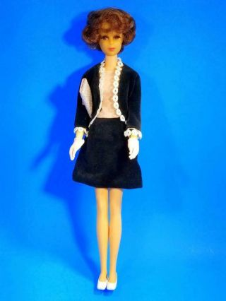 RARE Auburn Francie Doll w/Japanese Exclusive Clone MINTY Vintage 1960 ' s 4