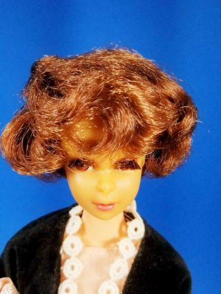 RARE Auburn Francie Doll w/Japanese Exclusive Clone MINTY Vintage 1960 ' s 6