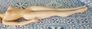 Vintage 1959 Mattel Barbie 2 Blonde Doll Auburn Japan Feet 59 7