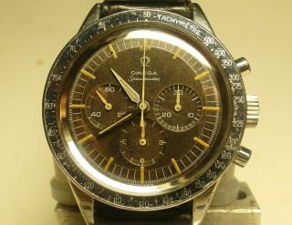 OMEGA SPEEDMASTER 2998 - 3;cal.  321;1960/61;Serviced Movement Outstanding;RARE 2