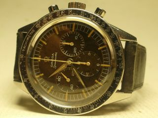 OMEGA SPEEDMASTER 2998 - 3;cal.  321;1960/61;Serviced Movement Outstanding;RARE 4