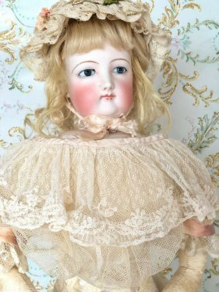 Gorgeous Antique Francois Gaultier French Fashion Poupee Doll Fg All Antique