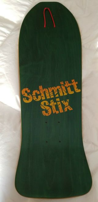 Vintage OG 1986 Jeff Grosso Schmitt Stix Toy Blocks Skateboard Deck 2