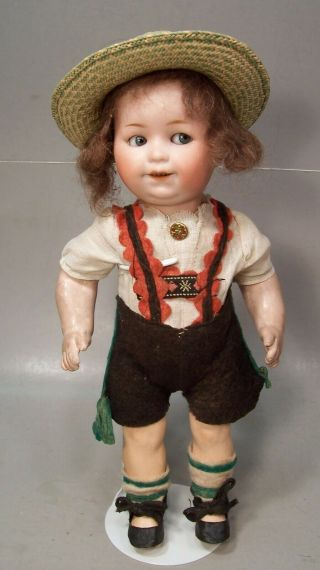 Hard - To - Find 10 Inch Goebel Googly Antique Doll - All - - No Damage