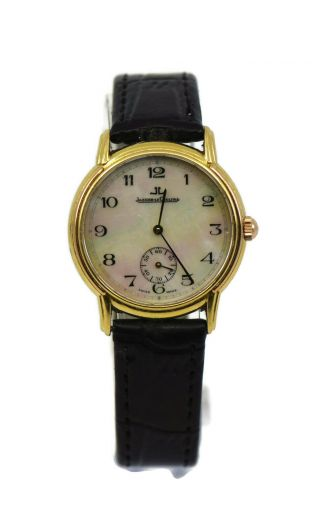 Jaeger Lecoultre Vintage 18k Yellow Gold Watch