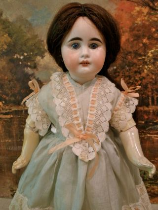 "Antique 14 1/2 "" Rare Sonneburg Doll For French Market"