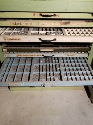 Chandler and Price 8x12 antique letterpress printing press. 10