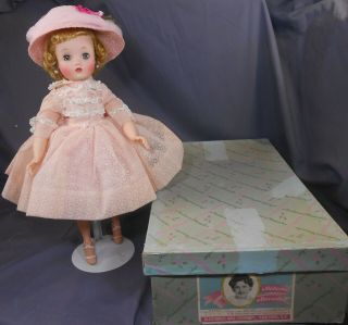 Vintage Madame Alexander Elise 1718 Nmib.  Wow What A Beauty