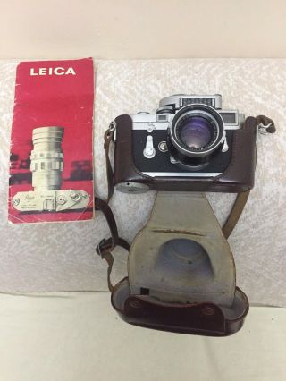 Rare Leica M3 Single Stroke Transitional Camera,  Leica Seal Intact & Lens Outfit 11