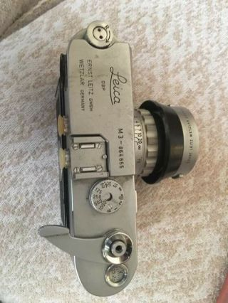 Rare Leica M3 Single Stroke Transitional Camera,  Leica Seal Intact & Lens Outfit 2