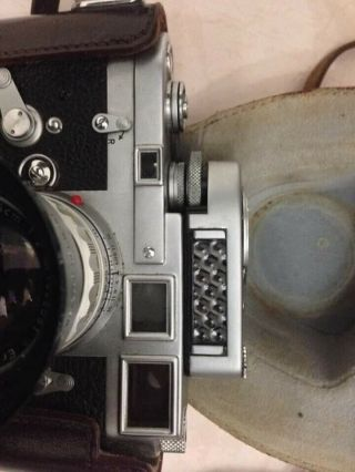Rare Leica M3 Single Stroke Transitional Camera,  Leica Seal Intact & Lens Outfit 4