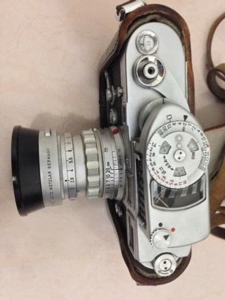 Rare Leica M3 Single Stroke Transitional Camera,  Leica Seal Intact & Lens Outfit 7