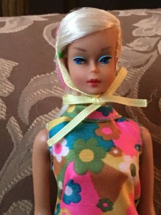 Vintage Barbie Color Magic Platinum Doll