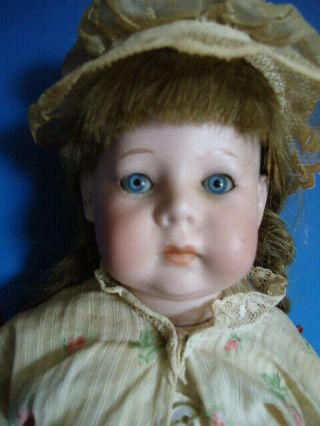 Rare German Bisque Character Doll Fany By Marseille Marked 231 / Fany / A.  O.  M.