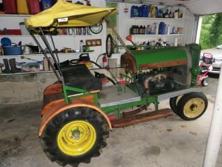 1927 John Deere Ford Model A Doodlebug Antique Tractor