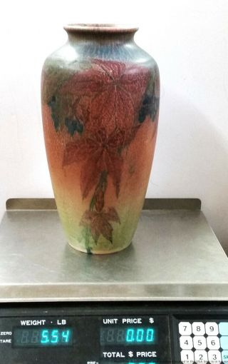 Antique Rookwood Elizabeth Lincoln Arts Crafts 614C Matte Art Pottery Vase 1926 9