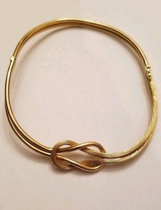 Ilias Lalaounis Knot Of Hercules: Necklace 18k Gold Choker
