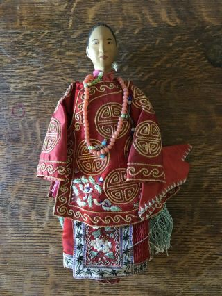 Antique Door Of Hope Doll (bride) From The Early 1900's