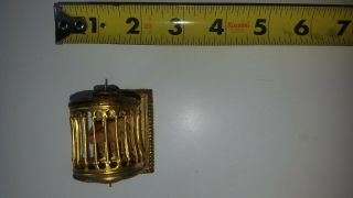 Antique Miniature Dollhouse Furniture Metal Tin