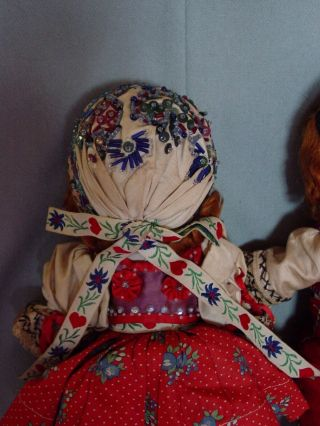IDEAL VINTAGE COMPOSITION IDEAL GINGER SHIRLEY TEMPLE DOLL PAIR RARE COSTUME 3