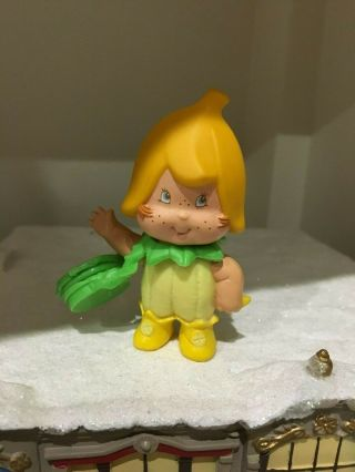 Htf Toy Banana Twirl Pet Berrykin From Strawberry Shortcake Doll Vintage 1980s