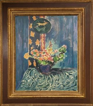 Henri Matisse Signed Antique Oil / Canvas Painting French?