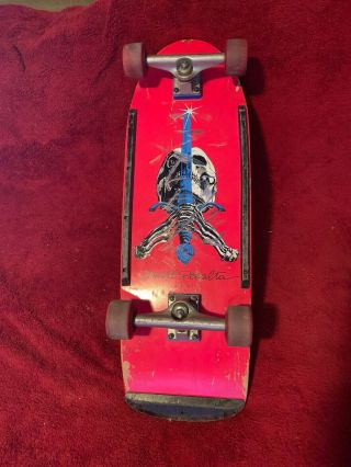 Powell Peralta Skull And Sword 1978 Pig