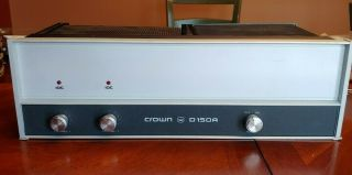 Vintage Crown D150a Stereo (2 - Channel) Power Amplifier