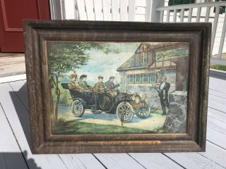 Rare Ryan's Brewery Beer Tray Sign Syracuse Ny Lager Antique Advertising Pre Pro