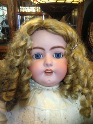 "38"" Antique German Doll Simon Halbig 1079 Dep"