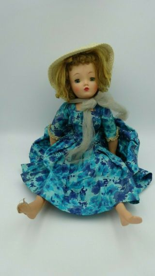 Vintage Madame Alexander Doll Cissy (?) Tlc Restore Or Parts