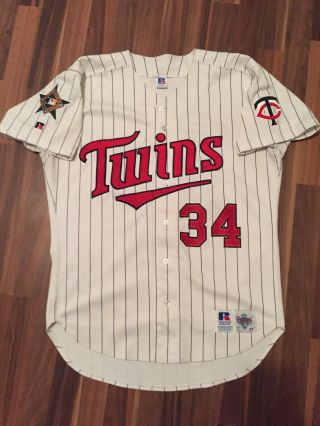 Authentic Vintage Kirby Puckett Minnesota Twins 1993 All Star Game Jersey