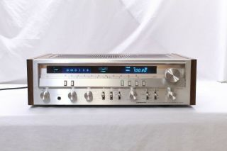 Vintage Pioneer Sx - 3700 Stereo Receiver.  Vg Overall W/original Box